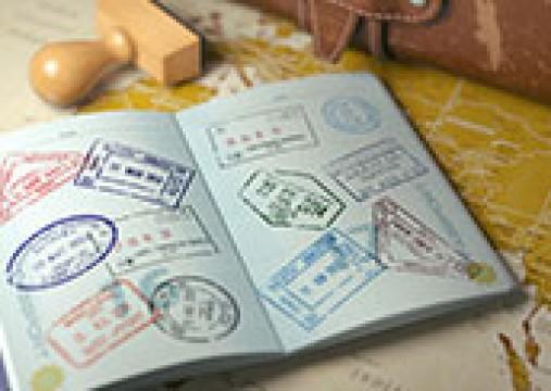 Visum aanvraag