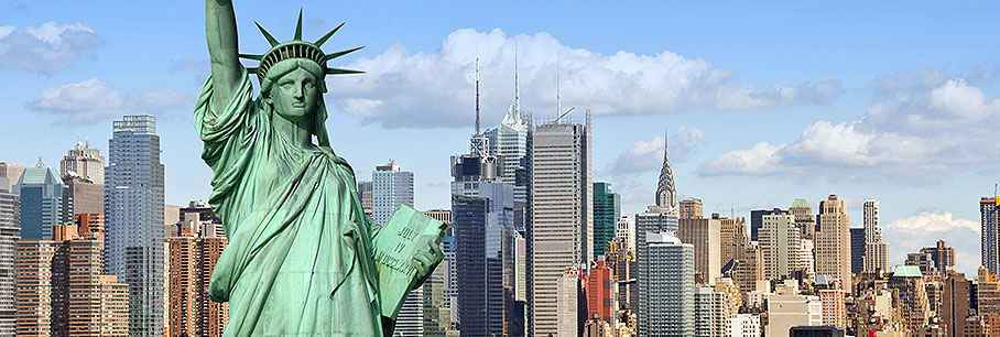 Bestemmingsinformatie Amerika